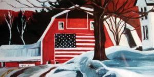 Julie Longstreth Vermont Artist - vermont barn scenery paintings